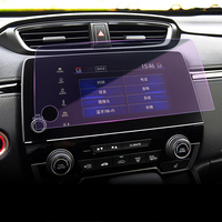 7 Inch Car Styling GPS Navigation Screen Steel Protective Film For Honda CR V CRV 2017