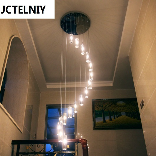 Kínai stílusú modern rövid k9 kristály hosszú led forgó - Beltéri világítás