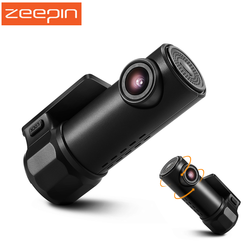 ZEEPIN 720 p WiFi Cachée Dash Cam 360 Degrés Max Tournant 170 Degrés Objectif Grand Angle WDR G capteur De Voiture DVR Caméra Conduite Enregistreur