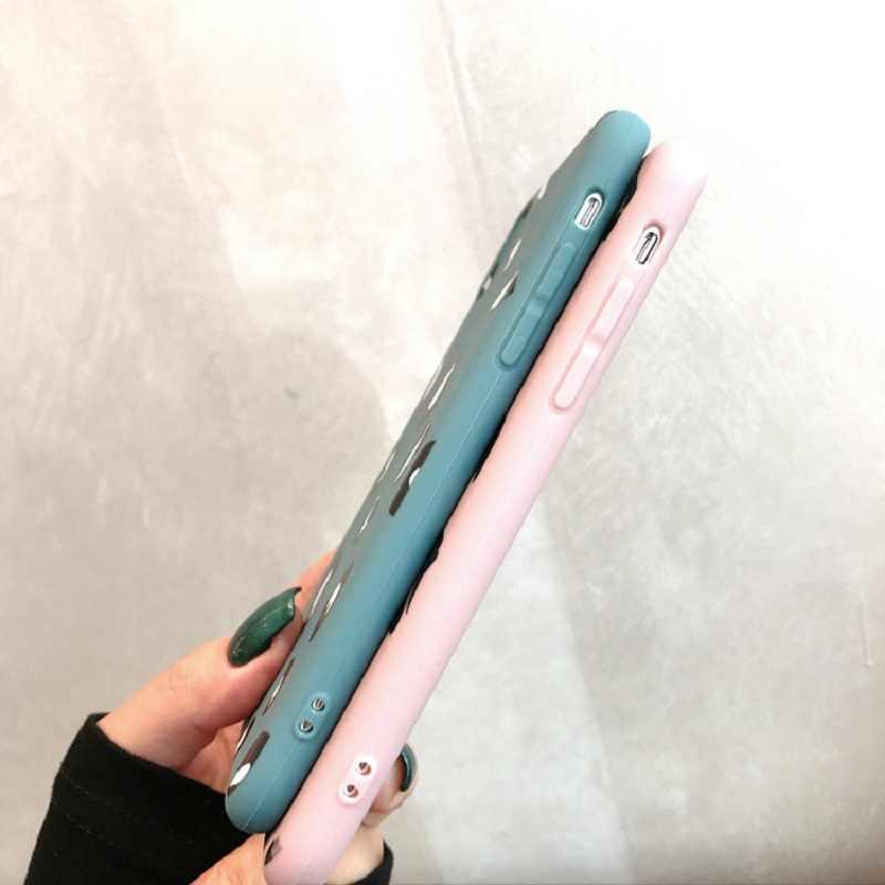 Dumbo милый мультфильм Disneys розовый слон цирк чехол для iPhone X Xs Mas Xr 10 8 7 Plus 6 6s Мягкий силиконовый чехол для телефона