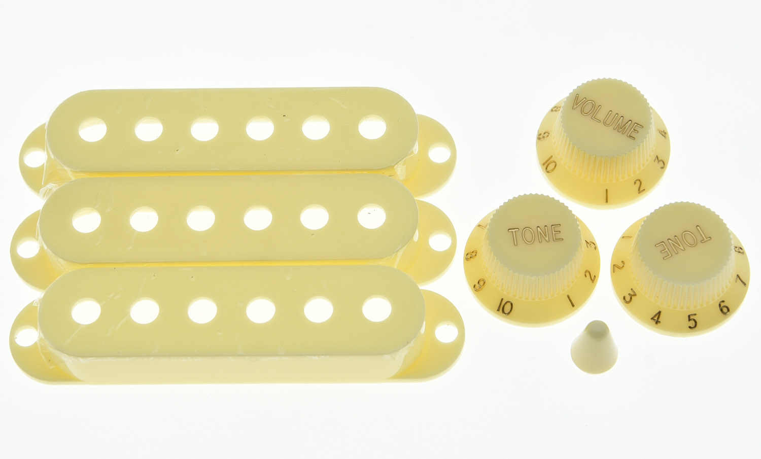 WHITE SWITCH TIP for 5 Way Switch 3mm Blade on Import /& Squier Stratocaster