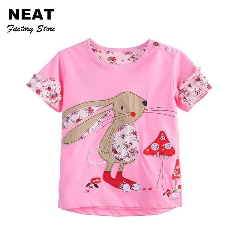 T shirts girls neat kids t shirt baby girl roupa infantil for Newborn girl t shirts