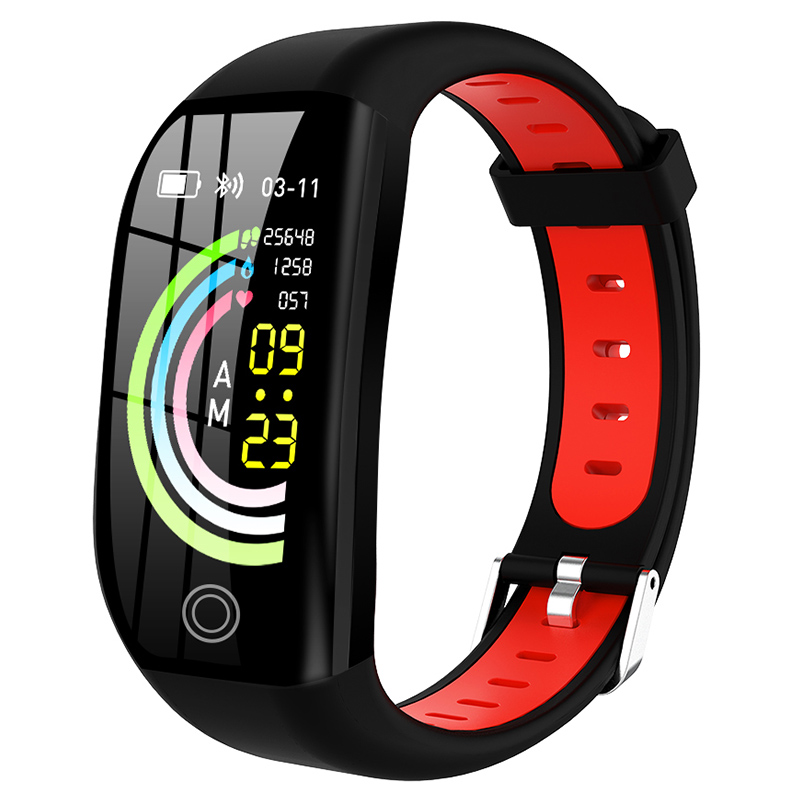 F21 Smart Wristband Fitness Bracelet Heart Rate Monitor Activity Tracker Health Pedometer Smartband Men Women For Android IOS image