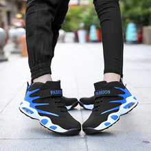 2015 Retail and wholesales men's and women's casual boots breathable flat shoes for lovers with chausure homme air cushion sole