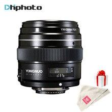 YONGNUO 100mm Lens F2N AF/MF Büyük Diyafram Standart Orta Telefoto Başbakan Sabit Odak YN100mm Lens için Nikon D7200 D7100 D5600