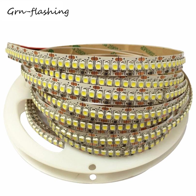 Ultra Bright 240led/M Led Strip Light 1m 2m 3m 4m 5m Led Strip Tape Smd 3528/2835 Dc12v Flexible Led Ribbon String Light