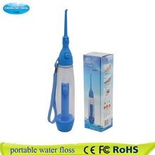 新ポータブル口腔洗浄器をきれいにマウスウォッシュあなた歯水灌漑手動水歯科フロッサなし電気abs