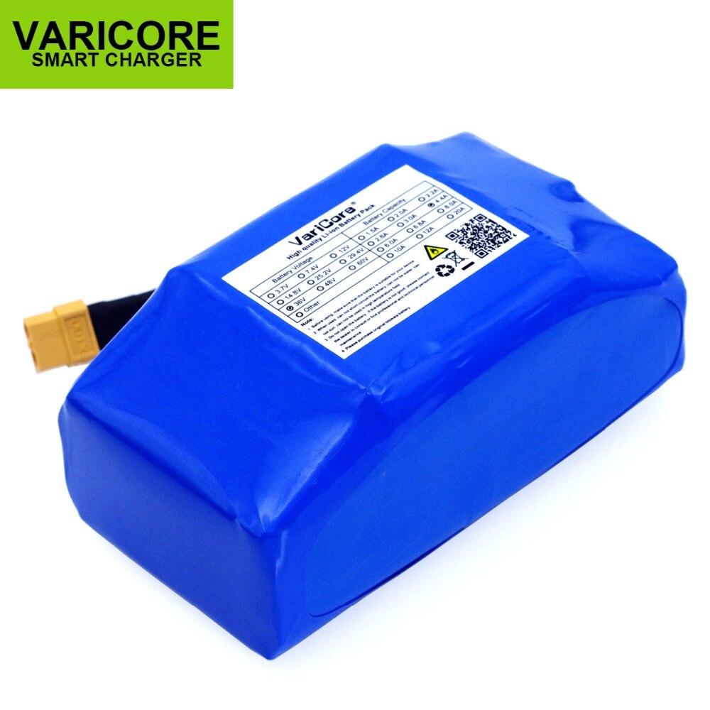 Batterie automatique de li-ion d'équilibre automatique de scooter électrique de puissance élevée de 36 V 4.4Ah de VariCore protégée 4400 mAh - 2