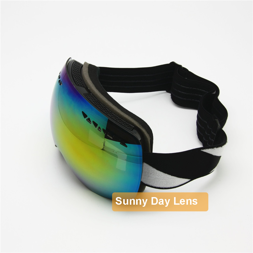 interchangeable ski goggles  Aliexpress.com : Buy Ski Goggles with Sunny \u0026 Cloudy Day Lens ...