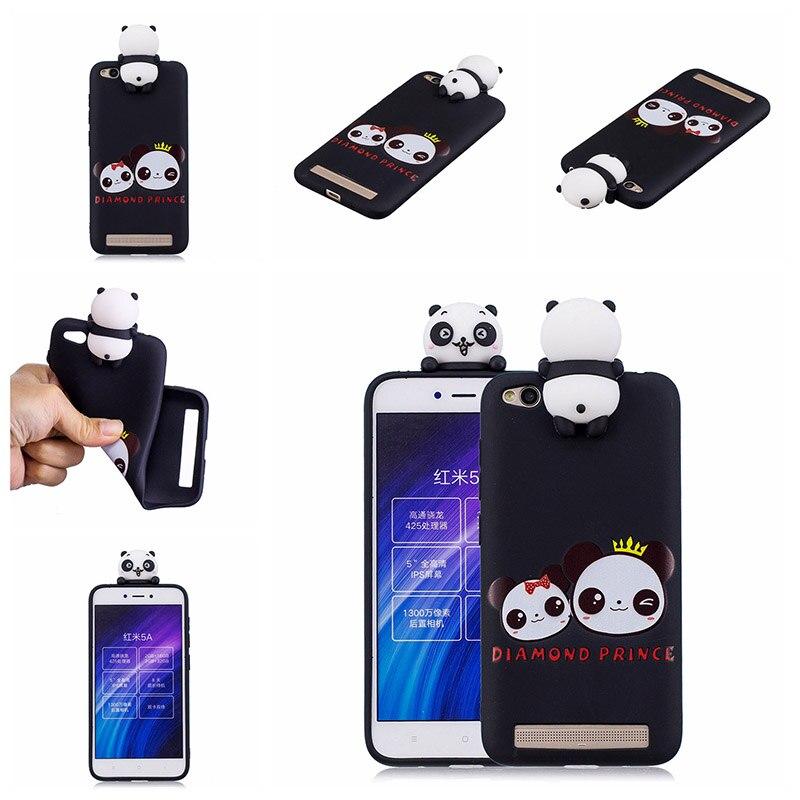 note 5 phone cases KeFo For Xiaomi Redmi 5A Note 5A Phone Cases 3D Squishy Animals Case Silicone Cover for Xiaomi Mi 5X MiA1 Mi5X (3) -
