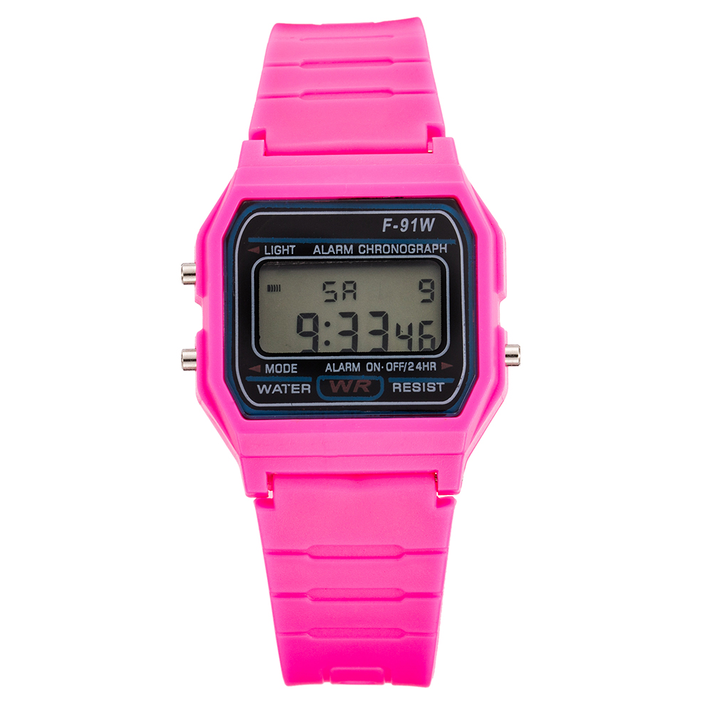 TMC#493 New Design Simple Rose Children Digital Watches Silicone Strap Boys Girls Electronic Watch Hot Montre Enfant 2019