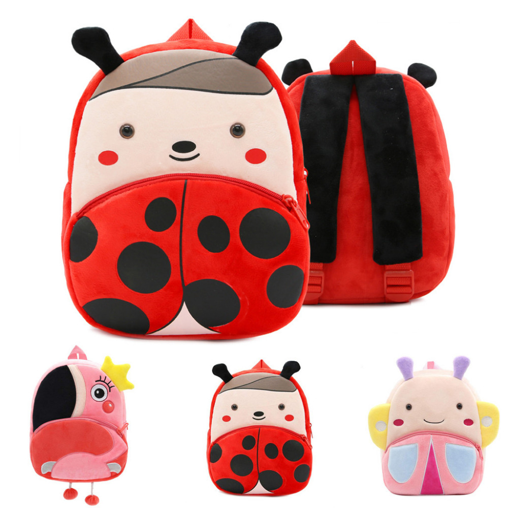 Animal Backpack School-Bag Toddler Girl Children Cartoon for And Boy Gift Baby Kid High-Quality