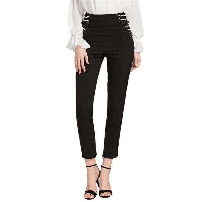 1126dcb2f3 SIPAIYA-Marque-Qualit-Femmes -Perles-Pantalon-Zipper-Fly-Maigre-Cheville-Longueur-Pantalon-Solide-Noir-Taille-Haute.jpg