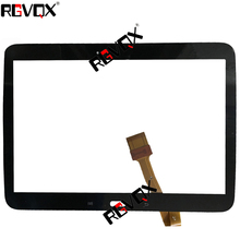 RLGVQDX NEW Touch Screen for Samsung Galaxy Tab 3 10.1 GT-P5200 P5210 P5220 Glass Replacement Black By Free Shipping