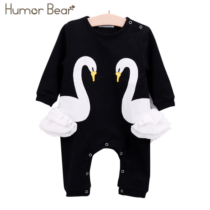 Humor Bear New Infant Jumpsuit Baby Suit Christmas Newborn Romper Baby Girl Clothes Girls Cartoon Design Baby Clothing Sets puseky 2017 infant romper baby boys girls jumpsuit newborn bebe clothing hooded toddler baby clothes cute panda romper costumes