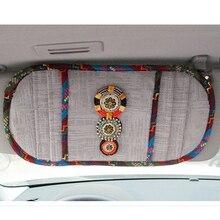 Buy   de Cover Car Sun Visor CD Holder Phone Hanging Bag  online