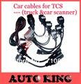 O envio gratuito de conjuntos completos 8 peças cabos de carro para TCS CDP PRO cdp wo vd ds cdp/multidiag pro ferramenta de diagnóstico obd2
