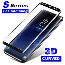 3D стекло для samsung Galaxy S7 Edge S6 S 6 7 Edge plus изогнутый защитный лист пленка Tremp телефон Samsong закаленное+ стекло