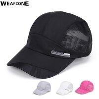 Spring Men Women Wearzon Snapback Cap Quickdry Summer Sun Hat Visor Hip Hop Bone Breathable Chapeu