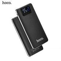 HOCO Power Bank 20000mAh For Xiaomi Mi 2 3 USB Ports Fast Charging Portable 10000mAh Powerbank