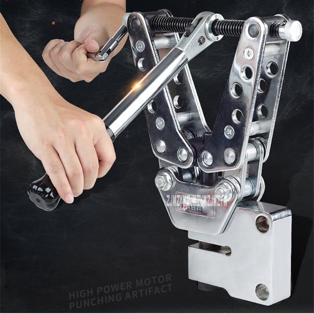 CKJ-21 Hydraulische Druck Mechanische Puncher Tragbare Winkel Stahl Eisen Stanzen Werkzeug Kupfer Und Aluminium Reihe Stanzen Maschine