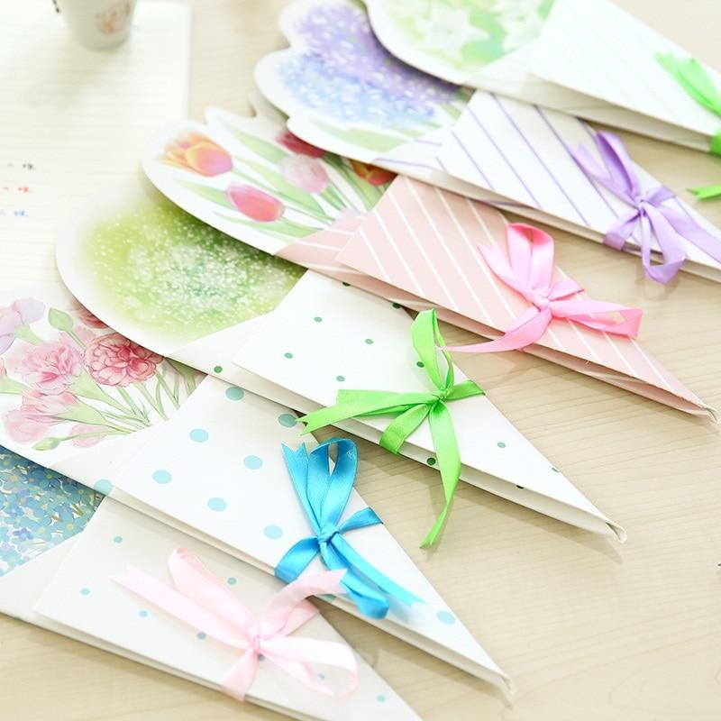 5pcslot Mid Autumn Festival Diy Creative Flower Gift Message