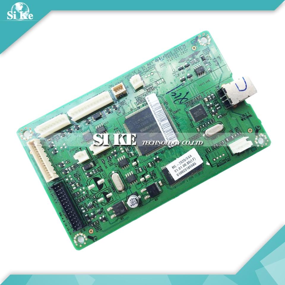 Laser Printer Main Board For Samsung ML-2525 ML-2526 ML 2526 2525 ML2526 ML2525 Formatter Board Mainboard Logic Board black laser printer bottle toner powder dust refill kit for samsung ml 1210d3 ml 1010 ml 1220 ml 1250 ml 1430 ml 1210 cartridge