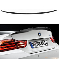 Carbon Fiber F82 M4 Performance Style Rear Trunk Spoiler Wing for BMW F82 M4 2014 2016