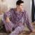 Invierno Hombre Warm Franela Pijamas Conjunto de Salón Del Sueño de Manga Larga de Lana Gruesa Masculina Suave Homewear Pijama de Dormir Más El Tamaño M-4XL