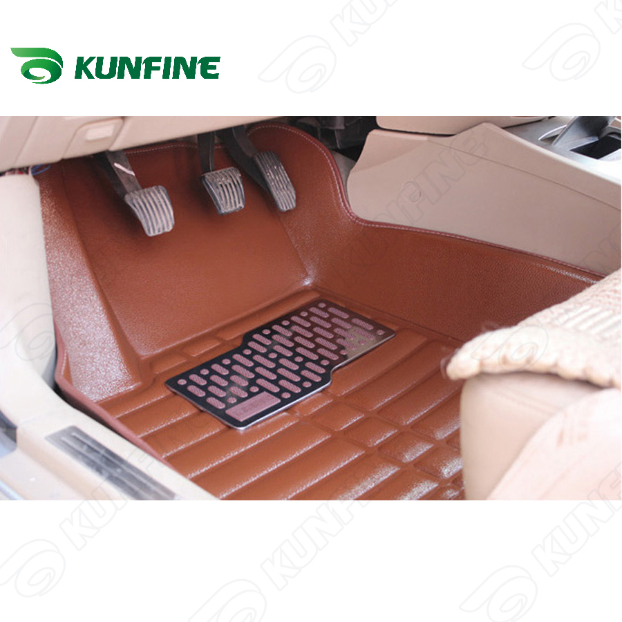 3D car floor mat for KIA Soul/SPORTAGE/K3S car foot pad 3 colors Left hand driver drop shipping