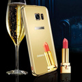 Original KXX High Quality Mirror PC+ Plating Border Mobile Phone Cases For Samsung Galaxy S7 Edge Luxury Metal Cover Case Fundas
