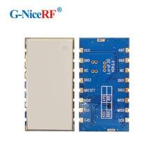 משלוח חינם 2 יחידות Lora1276F30 1 w 5 6 km גבוהה רגישות 139 dBm 868 mhz 915 mhz SX1276 אלחוטי RF מודול