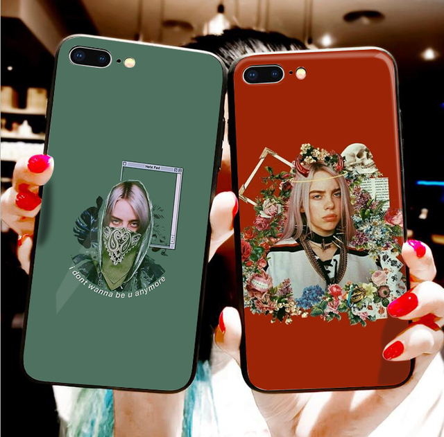 BILLIE EILISH IPHONE CASE (12 VARIAN)