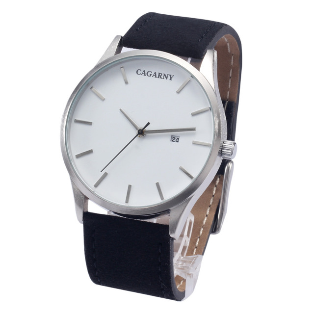 Cagarny Lover s Luxury Brand Watches UK Style Quartz Watch For Women Men  Fashion Wristwatches Waterproof Leather 0e77f0fb3ade