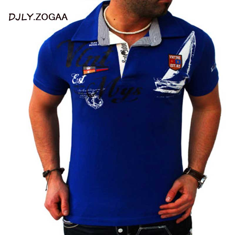 ZOGAA Plus Size Men's Casual Polo Shirts Leisure Polos Men Cotton Short Sleeve Shirt Brand New Summer Mens Polo Shirts S-3XL