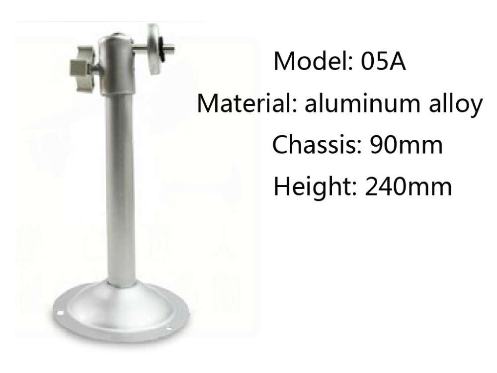 Aluminum Alloy 10 pieces CCTV Accessories Camera Bracket wall mount bracket for cctv camera 05A цены онлайн