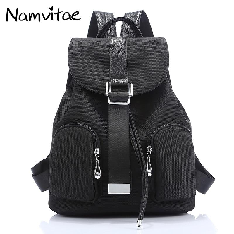 Namvitae Women Travel Backpacks Vintage Teenager Girls School Bags Famous Brand Design Oxford Waterproof Female Backpack