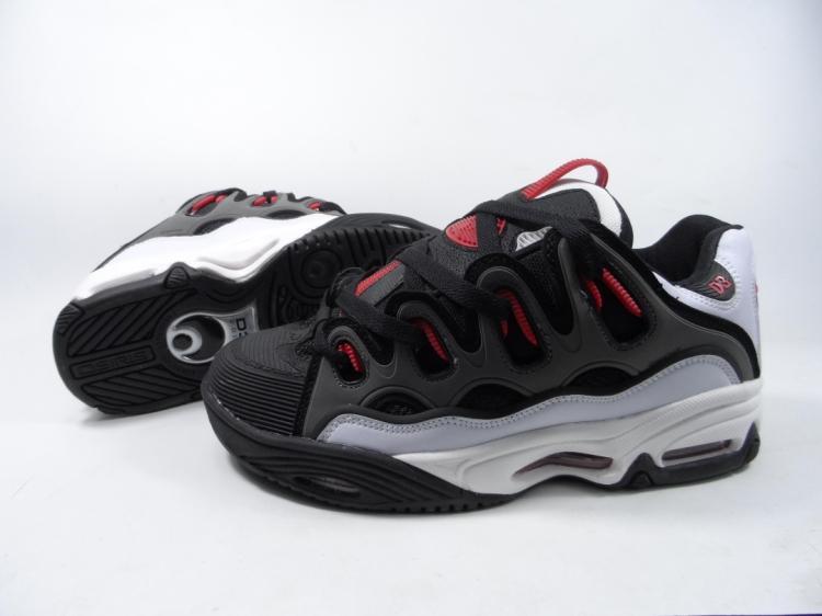 Zapatos de Skate Osiris Zapatos Muchacho de Los Hombres Menwear D3 2001 Moda Neg