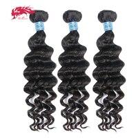 Ali Queen Hair Peruvian Natural Wave Hair Bundles 3 Piece Virgin Human Hair Weave 8 30 Inch Hair Extensions Natural Black