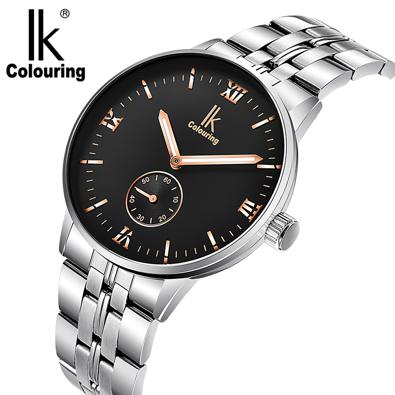 IK Coloring New Men's  Auto Automatic Mechanical Wrist Watch Free Ship coloring europe charming london