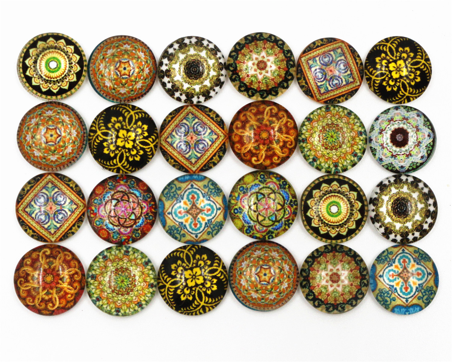 50pcs/Lot 12mm Photo Glass Cabochons Mixed Totem Cabochons For Handmade Bracelet earrings necklace Bases Settings-C7-0350pcs/Lot 12mm Photo Glass Cabochons Mixed Totem Cabochons For Handmade Bracelet earrings necklace Bases Settings-C7-03