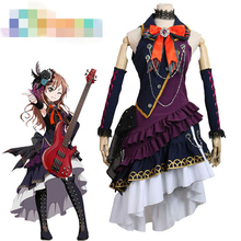 Anime Cosplay Costume BanG Dream BLACK SHOUT Imai Lisa Concert Dress Z