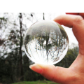 60mm Contact Juggling Ball 100% Acrylic Crystal Ultra Clear Ball Manipulation Juggling Magic Tricks Easy To Do