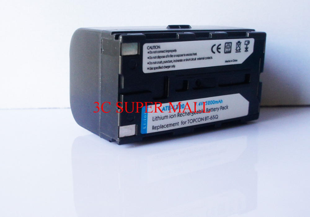 NEW TOPCON BT-65Q Battery FOR TOPCON GTS-750/GPT-7500 TOTAL STATIONS  цены