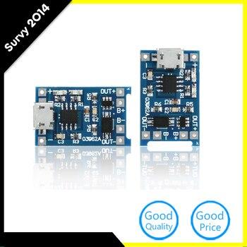 2 шт. Micro USB 5 В 1A 18650 TP4056 литиевых Батарея Зарядное устройство модуль зарядки доска с защитой двойной функции
