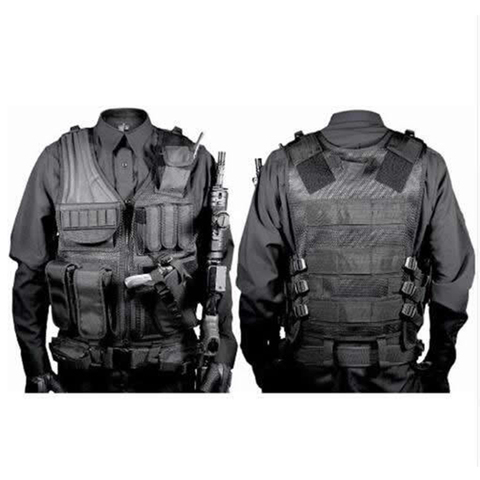 Police Military Tactical Vest Wargame Body Armor Sports Wear Hunting Vest CS Outdoor Products Equipment with 5 Colors Lahore