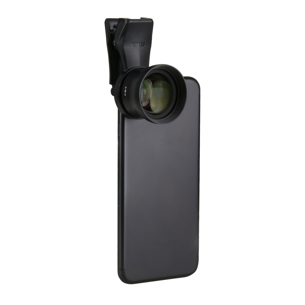 SIRUI 60mm Smartphone Lens with Universal Phone Plastic Clip for iPhone X 8 7 Samsung Galaxy