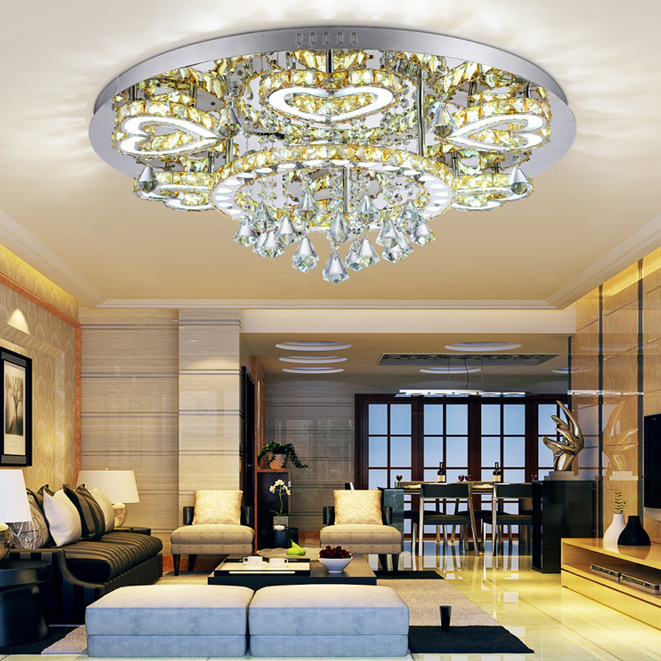LED Modern Crystal Stainless Steel Dimmable LED Lamp.LED Light.Ceiling Lights.LED Ceiling Light.Ceiling Lamp For Foyer Bedroom LED Modern Crystal Stainless Steel Dimmable LED Lamp.LED Light.Ceiling Lights.LED Ceiling Light.Ceiling Lamp For Foyer Bedroom