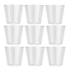 10 шт прозрачный пластиковый одноразовый вечерние рюмки чашки для желе Tumblers день рождения кухня outils аксессуары