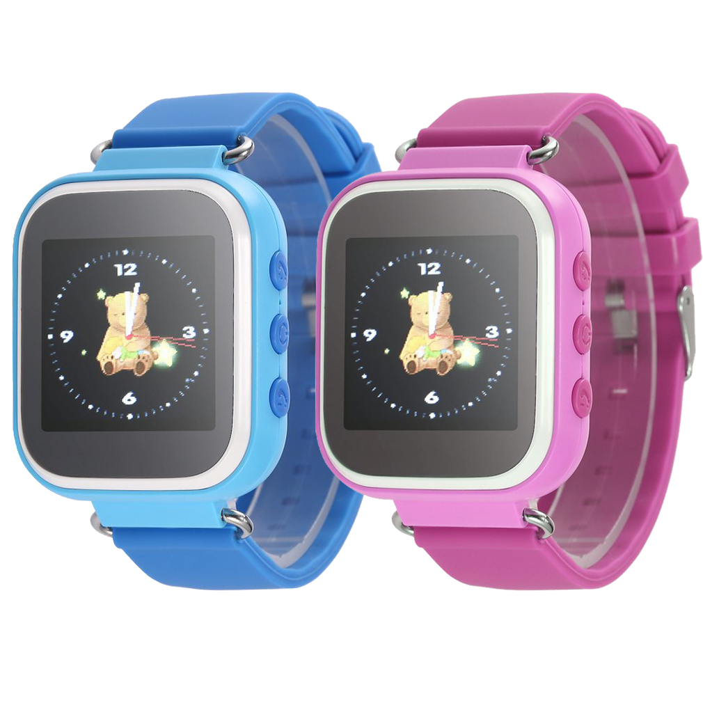 Multi-function T06S Kids Smart Watches LBS Positioning Color Display Multiple Languages With SOS Button Anti Lost Cute Watch